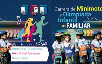 Carrera de Minimotos y Olimpiada Infantil Familiar