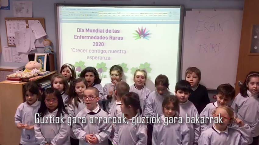 Erain Txiki participa en un vídeo de FEDER