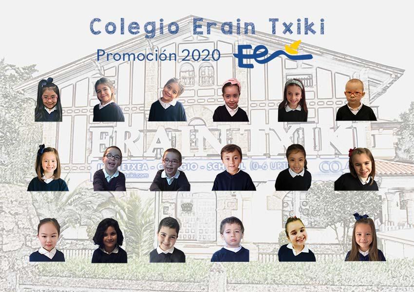 Graduación Erain Txiki 2020